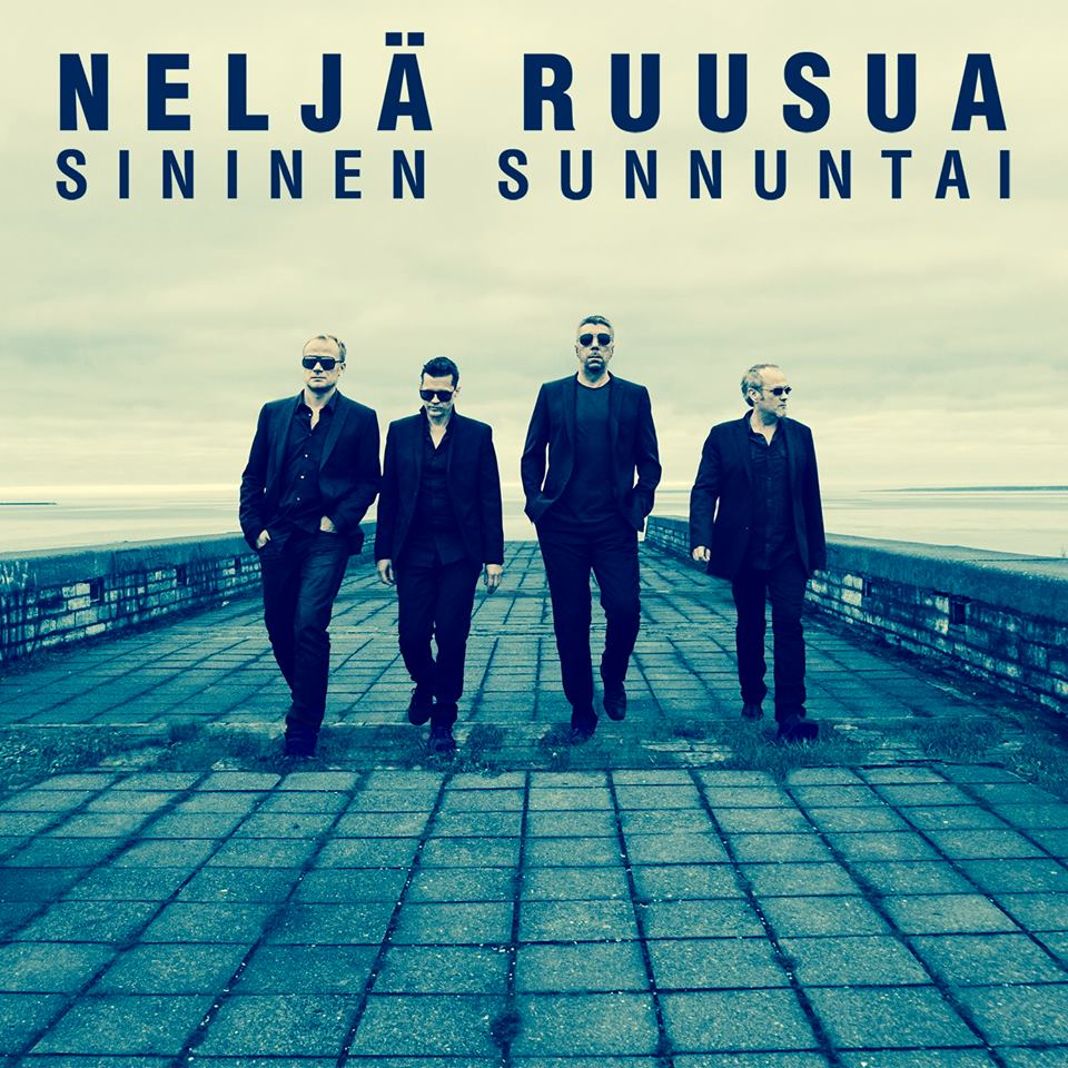 """Neljä Ruusua """"Sininen Sunnuntai"""" Released!"""
